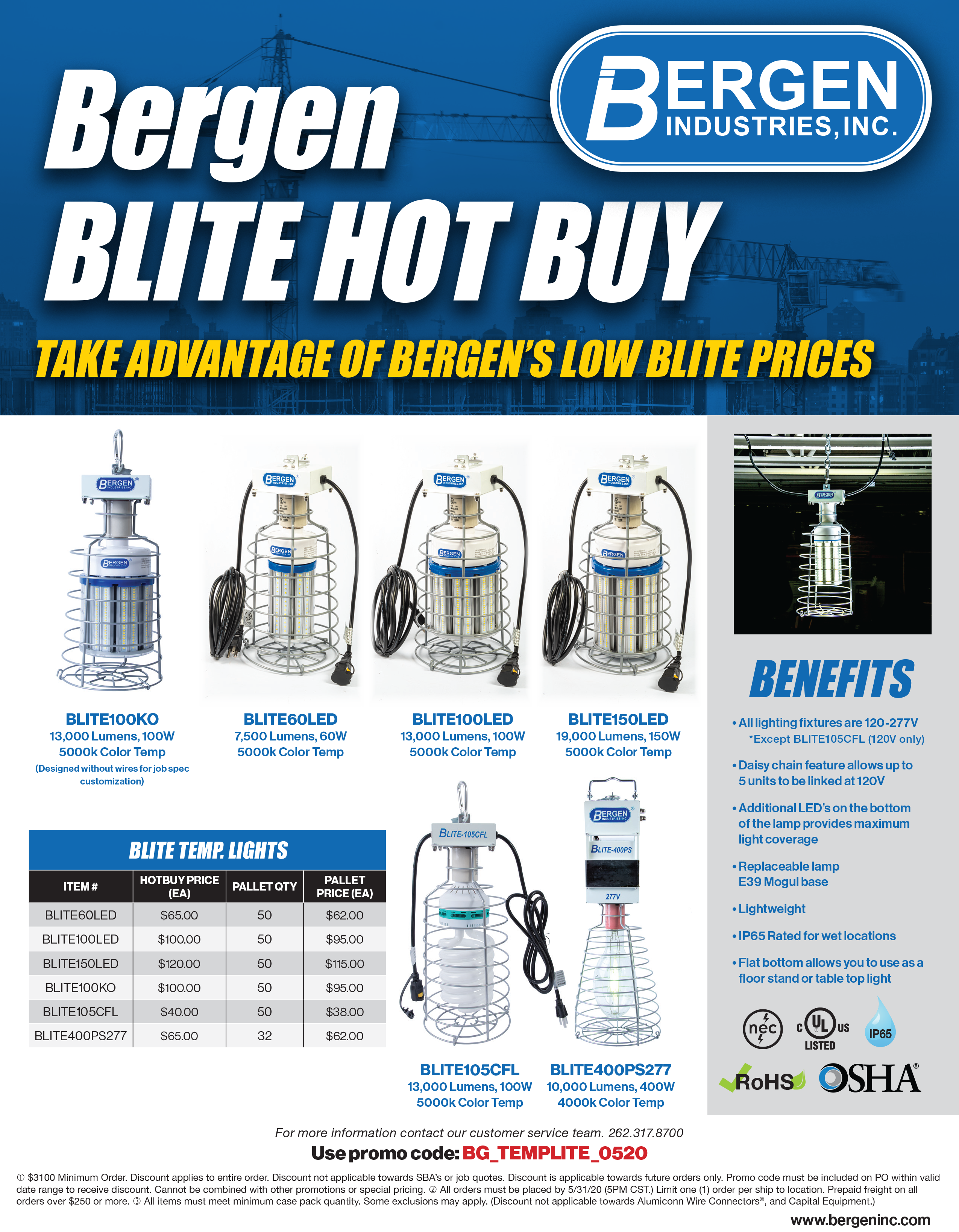 Bergen BLITE Hot Sale